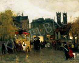 Berkes Antal - Párizsi este, 1908