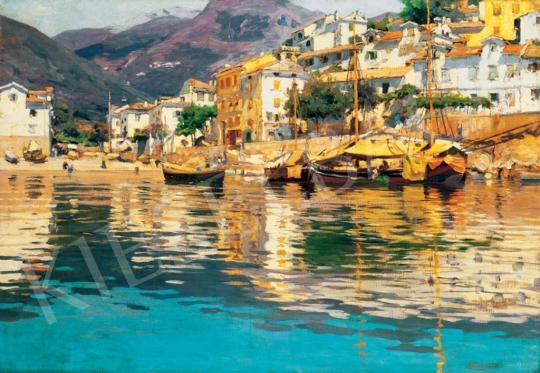 Nádler Róbert - Mediterrán kikötő | 28. Aukció aukció / 12 tétel