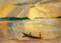Szőnyi, István - Brilliant Sunshine over the River Danube, 1935