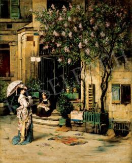 Bruck Lajos - Párizsi dáma, 1876