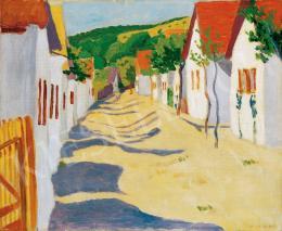 Pap Géza - Napsütötte utca, 1909
