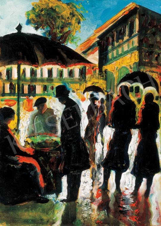 Scheiber Hugó - Gesztenyeárus   28. Aukció aukció / 37 tétel