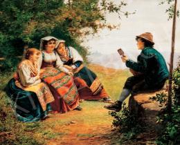 Vastagh György - Olasz lányok (Udvarlás)
