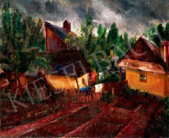 Paizs-Goebel Jenő - Nagybányai kertek, 1926 | 28. Aukció aukció / 90 tétel