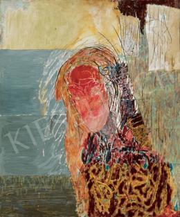 Gedő Ilka - Rózsaszínű önarckép, 1984