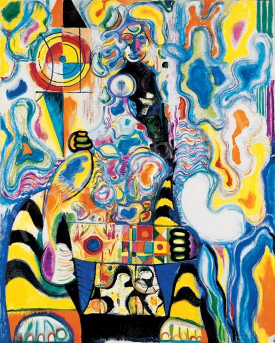 Hincz Gyula - Színes figura | 28. Aukció aukció / 143 tétel