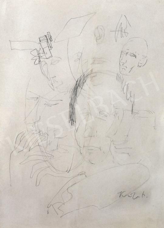 Kondor, Béla - Drawing | 28th Auction auction / 183 Item