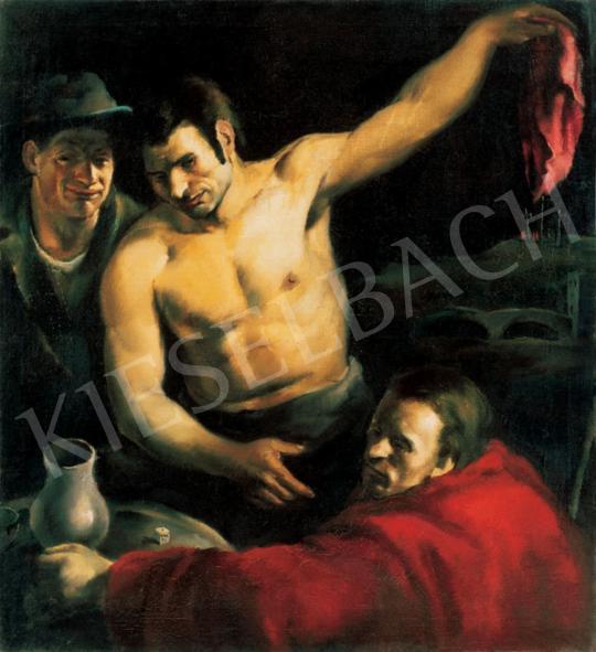 Ismeretlen festő - Kockázók | 28. Aukció aukció / 209 tétel