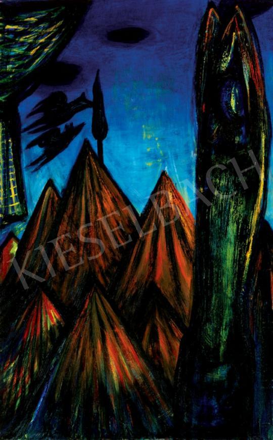 Kazovszkij, El - Vénuszhegy szürkületkor | 28. Aukció aukció / 218 tétel