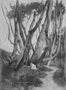 Deák Ébner, Lajos - Italian Landscape