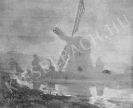 Katona Nándor - Szélmalom ködben