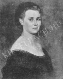 Lotz, Károly - Portrait of a Woman