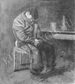 Mednyánszky László - Alvó legény