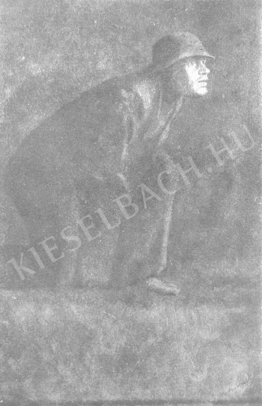 Mednyánszky László - Lesben festménye