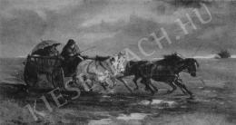Pállya Celesztin - Viharban