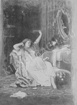Székely Bertalan - A könnyelmű nő élete c. hármas kép középső része
