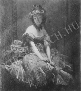 Székely Bertalan - Táncosnő
