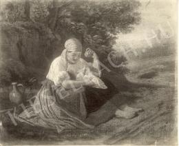 Lotz, Károly - Mother with Child