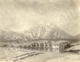 Mednyánszky László - Havasi tó