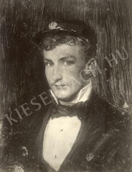 Kaufmann Izidor - Fiatal férfifej