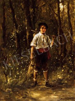 Bruck, Lajos - Little Boy in the Wood
