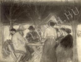Rippl-Rónai József - Asztal körül