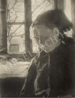 Perlmutter Izsák - Az ablaknál