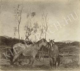 Rudnay, Gyula - Horses