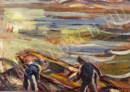 Egry József - Keszthelyi halászok