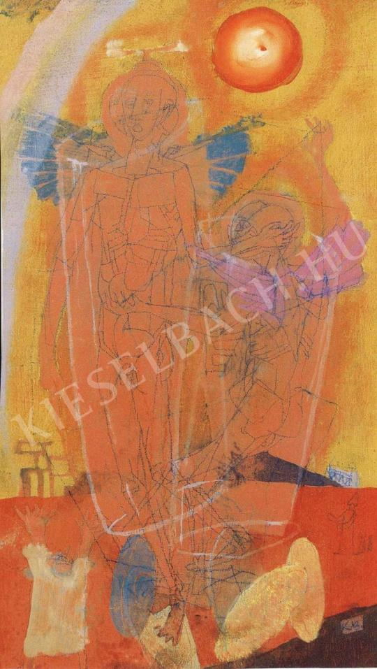 Kondor Béla - A két kerub festménye