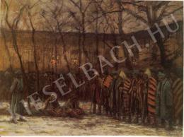 Mednyánszky, László - The Christmas of Prisoners of War