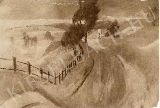 Szőnyi István - Zebegény festménye