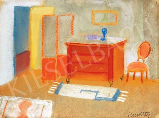 Kmetty János - A festő szobája | 29. Aukció aukció / 2 tétel