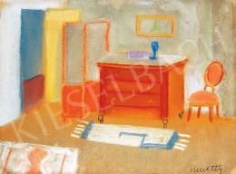 Kmetty János - A festő szobája