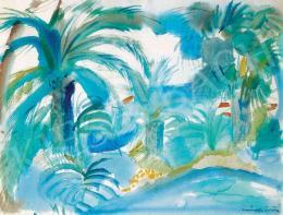 Márffy Ödön - Mediterrán táj