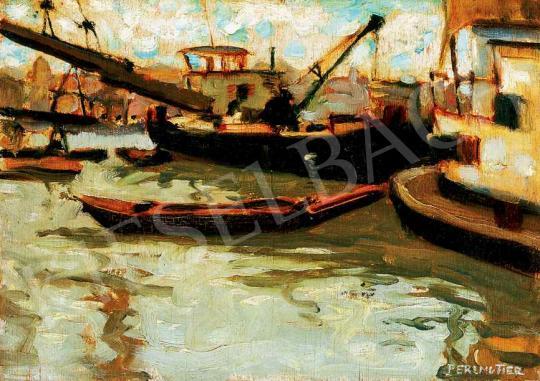 Perlmutter Izsák - Kikötő | 29. Aukció aukció / 9 tétel