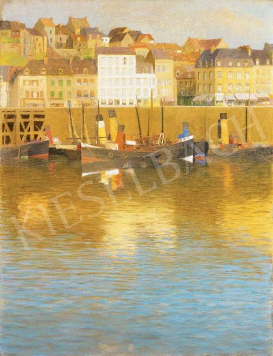 Poll Hugó - Kikötő   29. Aukció aukció / 10 tétel