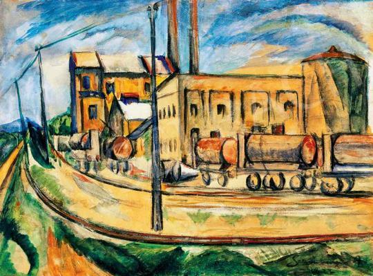 Schönberger Armand - Nagyváros | 29. Aukció aukció / 13 tétel