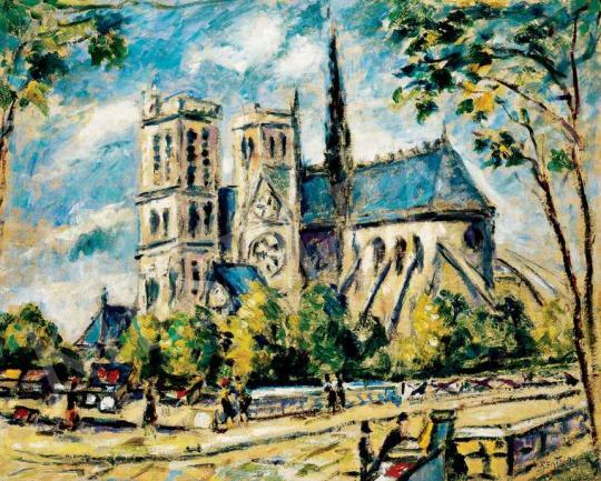 Bertalan Albert - A párizsi Notre Dame | 29. Aukció aukció / 14 tétel