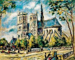 Bertalan Albert - A párizsi Notre Dame
