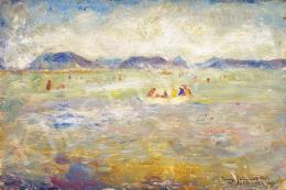Iványi Grünwald Béla - Balatoni csónakázók