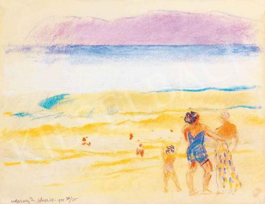 Vaszary János - Olasz tengerpart | 29. Aukció aukció / 22 tétel