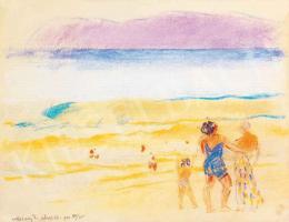 Vaszary János - Olasz tengerpart (1922)