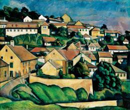 Gábor Jenő - Hegyoldal, 1919
