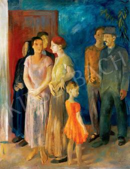 Szőnyi István - Beszélgetők (Falusiak) (1932)