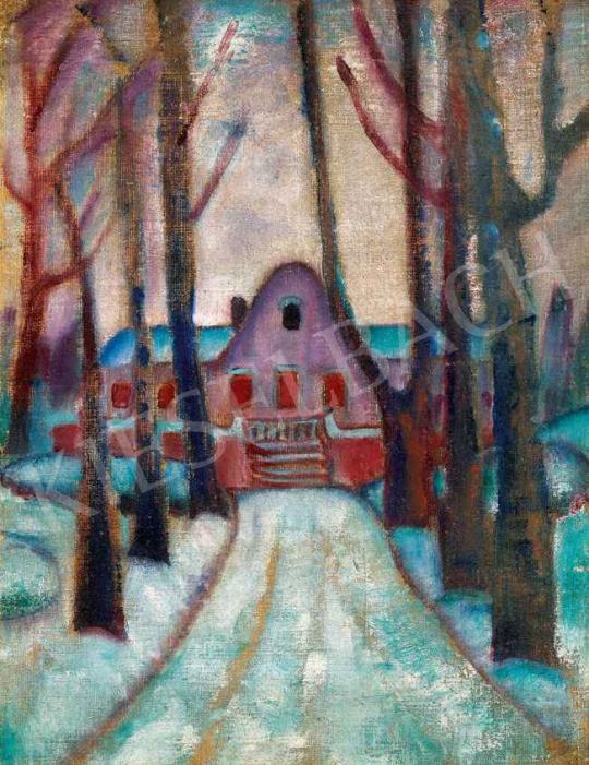 Gyenes Gitta - Lila kastély, 1910 körül | 29. Aukció aukció / 40 tétel