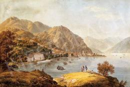 Rebell, Joseph - Kirándulók a Como-i tónál, 1811