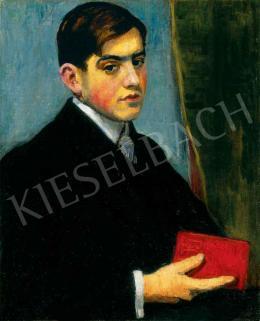 Basch Andor - Fiatalember piros könyvvel, 1908