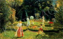 Márk Lajos - Parkban