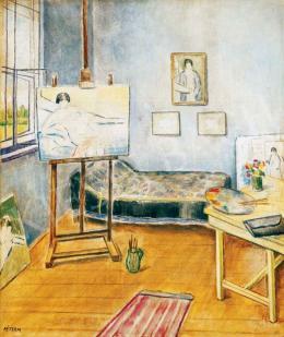 Péter Mária - A művésznő műterme